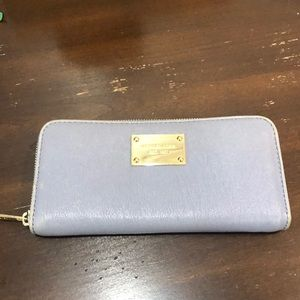 Michael Kors Bags - Micheal Kors Jet Set Wallet - Denim